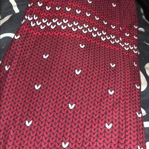 Authentic valentine Lularoe leggings!! Brand new!